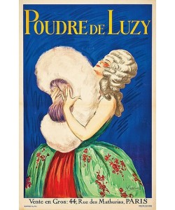 Leonetto Cappiello, Poudre de Luzy. (gedruckt bei Devambez, Paris)