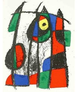 Miro Joan Volume 2 Blatt 7 (Lithog.Buchauflage)