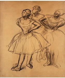 Edgar Degas, Drei Tänzerinnen (Trois Danseuses).