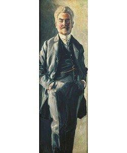 Egon Schiele, Bildnis Leopold Czihaczek. 1907