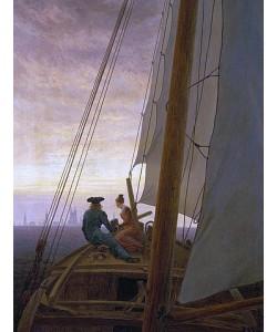 Caspar David Friedrich, Auf dem Segler. 1819