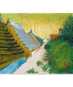 Vincent van Gogh, Dorfstraße in Saintes-Maries. 1888.