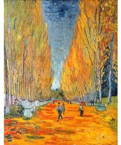 Vincent van Gogh, Die Alyscamps, Allee in Arles. 1888