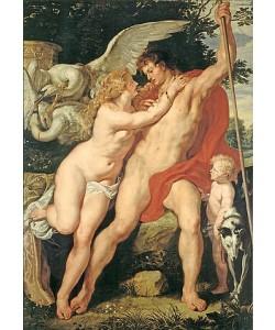Peter Paul Rubens, Venus und Adonis. Um 1610