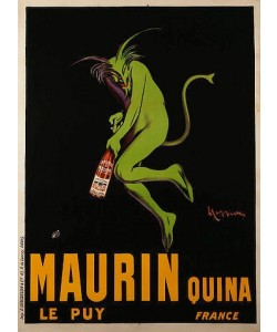 Leonetto Cappiello, Maurin Quina. Um 1922
