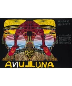 Friedensreich Hundertwasser, Luna-Luna (Folienpraegung)