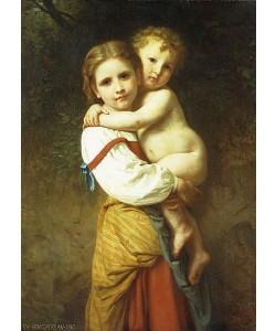 William Adolphe Bouguereau, Die große Schwester. 1865