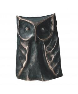 Thomas Pelzel, Bronzeeule, 23 x 14cm