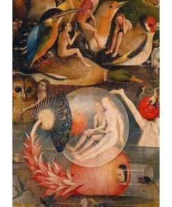 Hieronymus Bosch, Der Garten der Lüste. Detail der Mitteltafel.