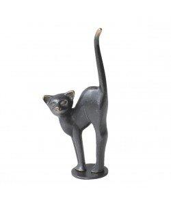 Kerstin Stark, Katze mit Buckel, 17cm