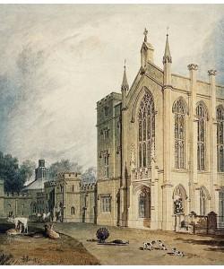 Joseph Mallord William Turner, Cassiobury, West Front. Um 1807