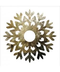 Melody Hogan, GLIMMER SNOWFLAKES I