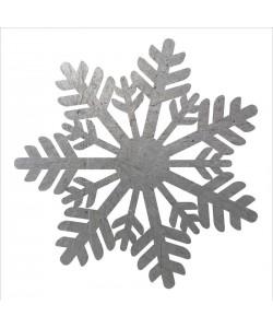 Melody Hogan, SILVER SNOWFLAKES I
