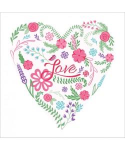 Laura Lobdell, VALENTINE HEART I