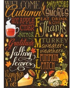 Melody Hogan, FALL TYPO SET BROWN I
