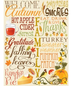 Melody Hogan, FALL TYPO SET CREAM I
