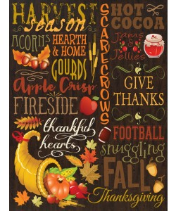 Melody Hogan, FALL TYPO SET BROWN II