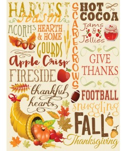 Melody Hogan, FALL TYPO SET CREAM II