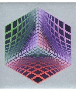Vasarely Victor Test Tarka (Siebdruck, handsigniert, nummeriert)