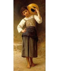 William Adolphe Bouguereau, Mädchen mit Wasserkrug.