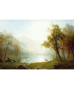 Albert Bierstadt, Tal im King's Canyon.