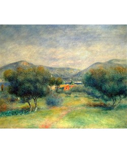 Auguste Renoir, Landschaft bei Toulons.