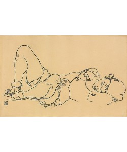 Egon Schiele, Liegende. 1918
