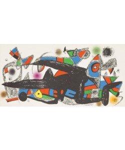 Miro Joan Escultor Denmark (Lithographie)