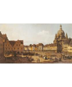 Canaletto, DRESDEN, NEUMARKT