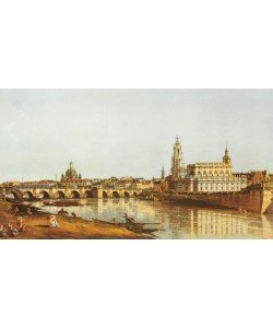 Canaletto, DRESDEN, ELBUFER