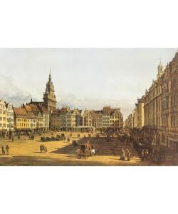 Canaletto, DRESDEN, ALTMARKT