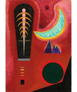 Wassily Kandinsky, Loses im Rot. 1925