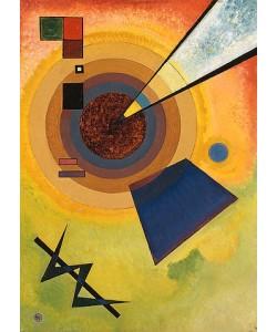 Wassily Kandinsky, Grün und Rot. 1925