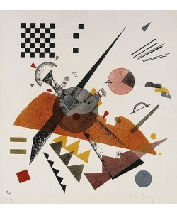Wassily Kandinsky, Orange. 1923