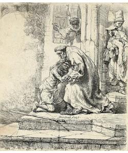 Rembrandt van Rijn, Die Rückkehr des verlorenen Sohnes. 1636