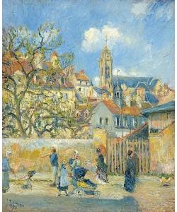 Camille Pissarro, Le Parc aux Charrettes, Pontoise. 1878