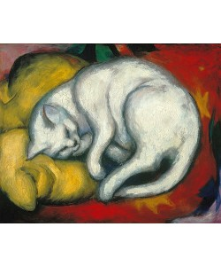 Franz Marc, Die weisse Katze. 1912