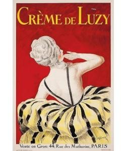 Leonetto Cappiello, 'Crème de Luzy'. 1919. Gedruckt von Devambez, Paris.