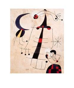 Joan Miro, Klage der Liebenden (Offset)