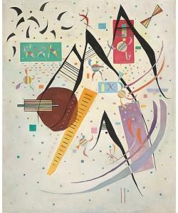 Wassily Kandinsky, Schwarze Punkte (Pointes noires). 1937