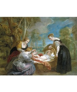 Peter Paul Rubens, Die Auffindung des Mosesknaben.