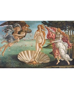 Sandro Botticelli, Geburt der Venus.
