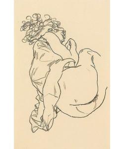 Egon Schiele, Liegende. 1917