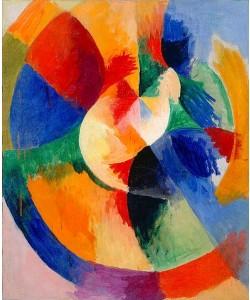 Robert Delaunay, Kreisformen, Sonne (Formes circulaires, soleil). 1912/13