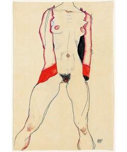 Egon Schiele, Weiblicher Torso. 1913