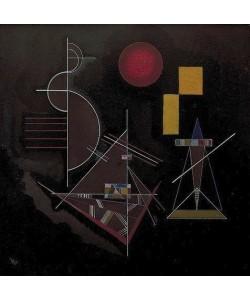 Wassily Kandinsky, Leicht in Schwer (licht in zwaar). 1929.