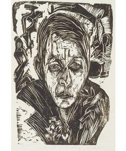 Ernst Ludwig Kirchner, Junges Mädchen mit Zigarette.