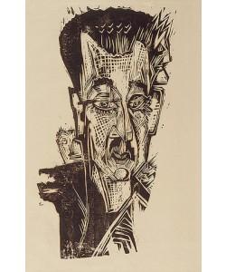 Ernst Ludwig Kirchner, Kopf Dr. L. Binswanger.