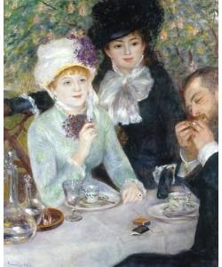 Auguste Renoir, Nach dem Mittagessen (La fin du Déjeuner). 1879