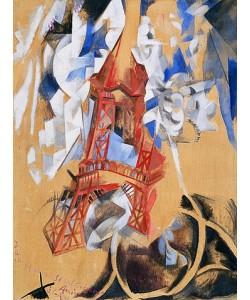 Robert Delaunay, Der Eiffelturm (La Tour Eiffel). 1910/11